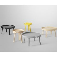 Buy ‪Muuto‬ Around Coffee Table Online. Select From Our Huge, Scandinavian, Modern, Muuto Range. Round Wooden Coffee Table, Black Coffee Tables, Small Coffee Table, Coffe Table, Coffee Table Design, Coffee Coffee, Danish Furniture, Furniture Design, Modern Furniture