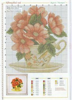 Gallery.ru / Фото #38 - filizanka(cups-flowers) - sabka