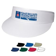How will you be spending your 4th of July? On the golf course? These Imprinted Golf Visors are great to wear on or off the course to protect you from the sun.