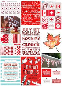 Jenn's Random Scraps: Get Your Canada Day On White Jello, Posters Canada, Canada Day Party, Making Sweets, Country Birthday, Happy Canada Day, White Leaf, Leaf Art, Time To Celebrate