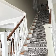 I frequently get asked what my most loved project is until this year. I have done multiple DIY and home improvements over the years. We love the carpet decoration in this DIY project Staircase Remodel, Staircase Railings, Wood Stairs, Staircase Design, Stairways, Banisters, Staircase With Runner, Staircase Banister Ideas, Bannister Ideas