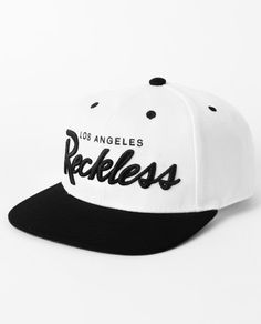 sports shoes 61159 8a32a OG Script Snapback Hat I fucking want this!