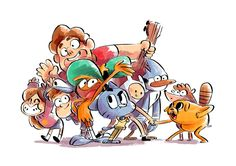 favorite cartoon characters ! by nounouille.deviantart.com on @deviantART