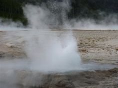 Geyser of the Yellowstone Park.2014