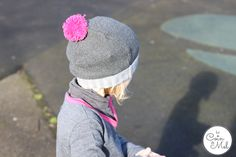 Les Petites Choses French brand for children with Tendre Deal  - That Hat! cute grey and pink outfit for a little girl