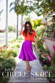 Merrick's Art // Style + Sewing for the Everyday Girl : DIY FRIDAY: CIRCLE SKIRT TUTORIAL
