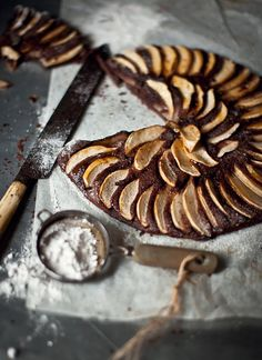 This Pear and Chocolate tart from What Katie Ate looks like a crowd pleaser!