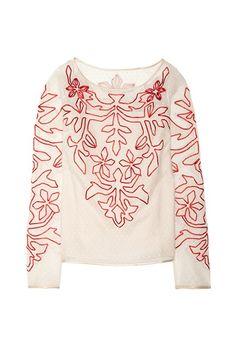 ALICE BY TEMPERLEY Floria top £204.17  http://ikonarussia.com/posts/ALICE_BY_TEMPERLEY