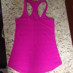 Pink Lululemon work out tank Great condition lululemon athletica Tops