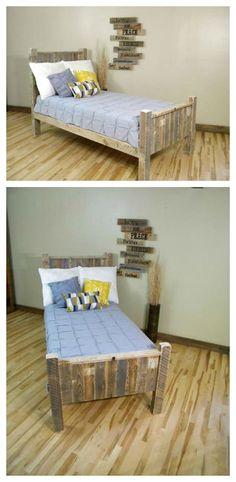 Elegant Pallet Bed
