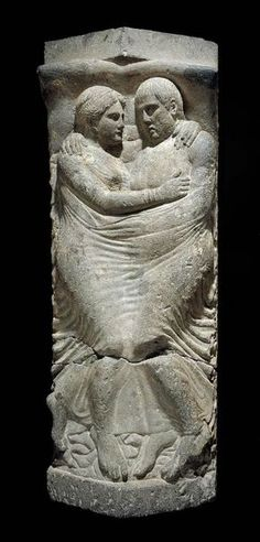 wow. Sarcophagus and lid with relief of Married couple. Etruscan circa late 4th–early 3rd century B.C http://www.mfa.org/node/4301