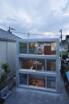 House in Byoubugaura, Japan
