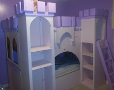 Princess Castle Bed! My husband built this for our daughter! There is even space for her princess dresses and other accessories. Contact Arkansasfamilycreations@gmail.com for more information.  Or https://www.facebook.com/ArkansasFamilyCreations