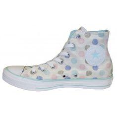 Converse Chucks Hi Canvas Polka Dot Print (Schuh)
