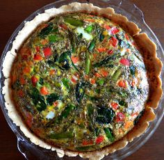 Gluten and Dairy Free Vegetable Quiche | Gladly Gluten Free
