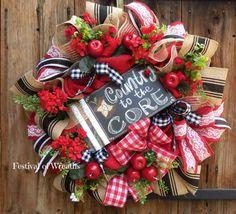 Summer Wreath Country Wreath Everyday Wreath by FestivalofWreaths