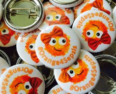 "Quickbadge on Twitter: ""25mm button pin #badges great size & price #promotionalproducts #uklatehour #uksmallbiz #orange4sepsis #womeninbiz  https://t.co/L4QjpUhrZS"""