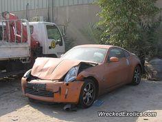 Nissan Z-Series 350Z crashed