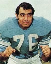 Rocky Freitas Detroit Lions 1968-77 and Tampa Bay Buccaneers 1978.
