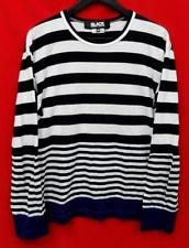 Comme des Garcons border cut black white navy Size M cool JUNYA WATANABE F/S