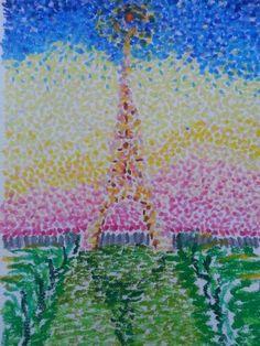 Pointillist Paris