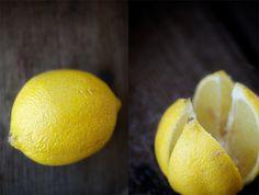 Moroccan preserved lemons: all you need is salt, lemons and time.
