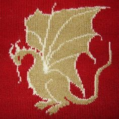 my crafty corner camelot dragon jumper knitting charts