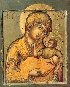 Icon of the Most Holy Theotokos of Murom / Муромская икона Пресв. Богородицы (Apr 12/25)