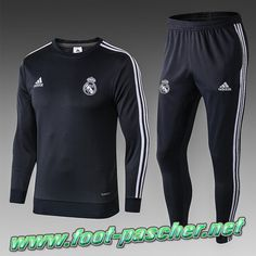 Replique Nouveaux Ensemble Survetement Foot Real Madrid Enfant Noir 2018/2019 Fc Liverpool, Fc Chelsea, Junior, Sport, Boutique, Real Madrid, Gym Men, Wetsuit, Sweatpants