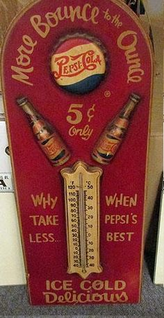 Old pepsi sign, rare?? | Collectors Weekly
