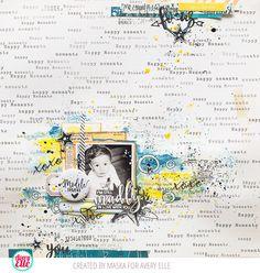 Maska Vanacker for Avery Elle Favorite Person stamps