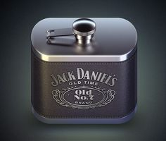 #JackDaniels Stunning app icons | #578 - Interface design inspiration