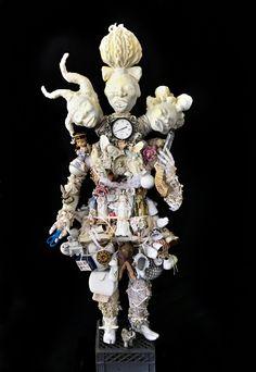 Vanessa German - Artists - Carl Hammer Gallery Sculpture Art, Sculptures, Outsider Art, Teaching Art, Art Museum, Art Dolls, Oriental, German, Assemblages