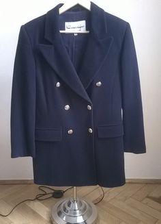 buy this at  #vintedpl http://www.vinted.pl/damska-odziez/plaszcze/11234859-granatowa-kurtka-vintage