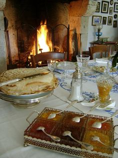 Périgord petit déjeuner et feu de cheminée...