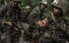 Soldados brasileiros durante gurso de guerra na selva executado pelo Centro de Instrução de Guerra na Selva do Brasil. Foto: Mauricio Lima /The New York Times