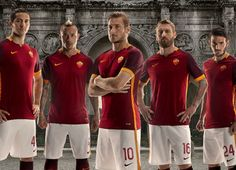 AS Roma 2015/16 Nike Home Kit - Inspired by Roman Soldiers