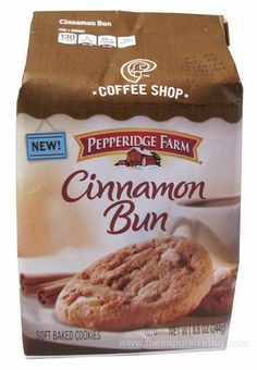 Pepperidge Farm Coffee Shop Cinnamon Bun Cookies by theimpulsivebuy, via Flickr