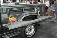 Quarter Panel/Bed/Seat Storage Scout II - Pirate4x4.Com : 4x4 and Off-Road Forum