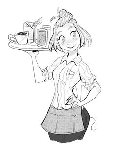 waitress sketch