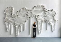 Incredible toilet paper installations by artist Sakir Gökcebag