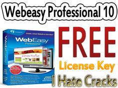Get Webeasy Professional 10 License Key For Free (Official Promo) - I Hate Cracks