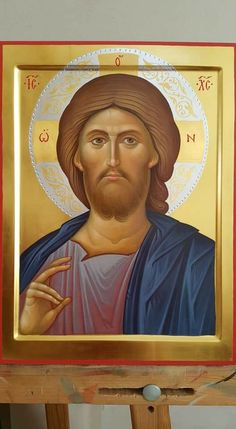 Religious Icons, Religious Art, Christ Pantocrator, Bible Timeline, Catholic Art, Gold Work, Son Of God, Orthodox Icons, Christian Art