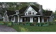 Country Style House Plans - 2267 Square Foot Home, 1 Story, 3 Bedroom and 3 3 Bath, 2 Garage Stalls by Monster House Plans - Plan 61-116