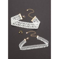 Boho Goddess Choker Necklace Set ❤ liked on Polyvore featuring jewelry, necklaces, bohemian style jewelry, bohemian jewelry, boho jewelry, boho chic jewelry and bohemian jewellery