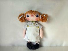 Muñecas de trapo, de la serie de Muñecas con corazón de L'@ LaRoba. Son muñecas de trapo de estilo Raggedy.