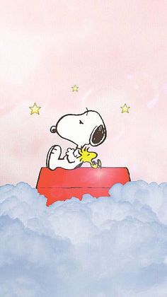 Snoopy and Woodstock Snoopy Love, Snoopy E Woodstock, Charlie Brown Y Snoopy, Cute Cartoon Wallpapers, Cute Wallpaper Backgrounds, Disney Wallpaper, Cool Wallpaper, Iphone Wallpaper, Peanuts Cartoon
