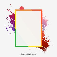 Stylish and simple border design PNG and PSD Photoshop Design, No Photoshop, Page Borders Design, Border Design, Banner Template Photoshop, Certificate Background, Border Templates, Simple Borders, Pop Art Wallpaper