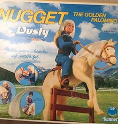 Dusty and Nugget! My sister and I (sort of) shared this toy. She ended up keeping Dusty and I got Nugget. Nugget was cool. The only thing that sucked was the legs--they were really rubbery and you couldn't stand the horse up on its own.