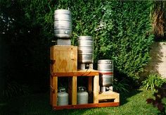 One day, we won't have to brew in our kitchen.  This is a very advanced home brewing system, but the design is practical, space saving, and attractive.
